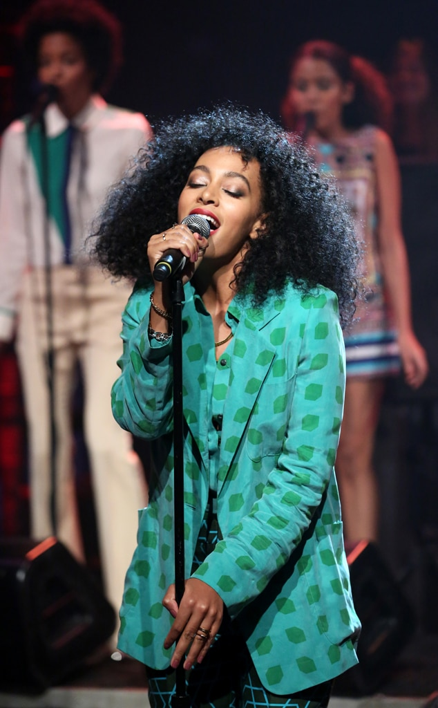 Solange, Late Night With Jimmy Fallon