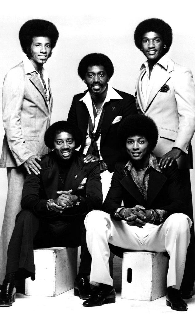 The Temptations, Richard Street, Otis Williams, Louis Price, Glenn Leonard, Melvin Franklin