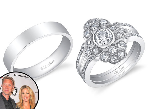 Christina Applegate, Martyn Lenoble, Rings