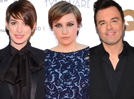 Anne Hathaway, Lena Dunham, Seth MacFarlane