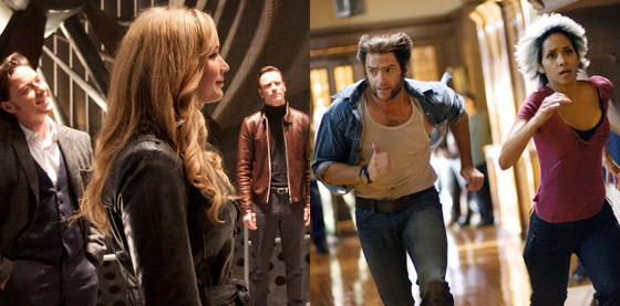 Jennifer Lawrence, Hugh Jackman, Michael Fassbender, Halle Berry, James McAvoy, X-Men First Class