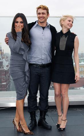 Mila Kunis, James Franco, Michelle Williams