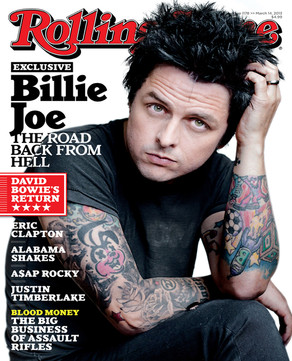 Billie Joe Armstrong, Rolling Stone Magazine