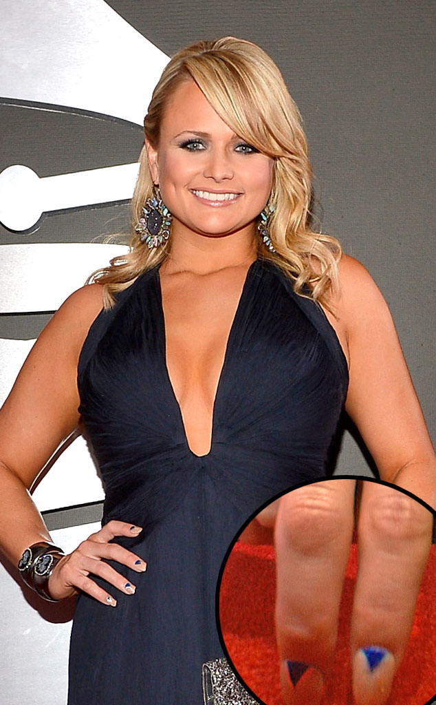 Miranda Lambert From Great Nail Art Of The 2013 Red Carpet Season E News