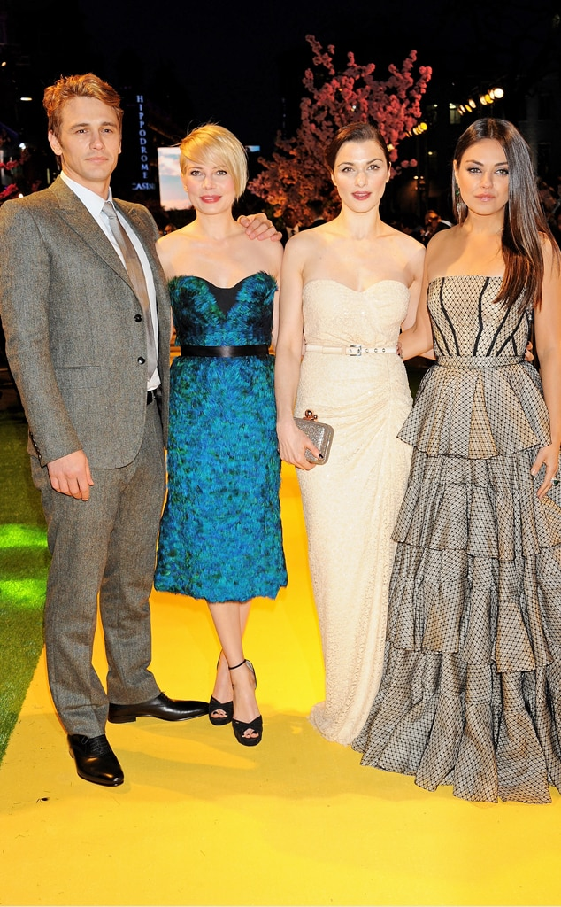 James Franco, Michelle Williams, Rachel Weisz, Mila Kunis, Oz The Great and Powerful