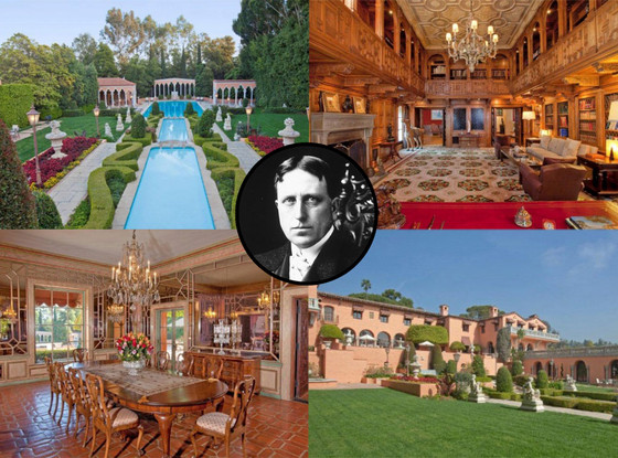 William Randolph Hearst Beverly Hill Home