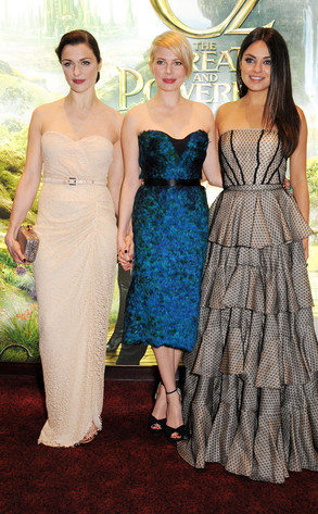Rachel Weisz, Michelle Williams, Mila Kunis