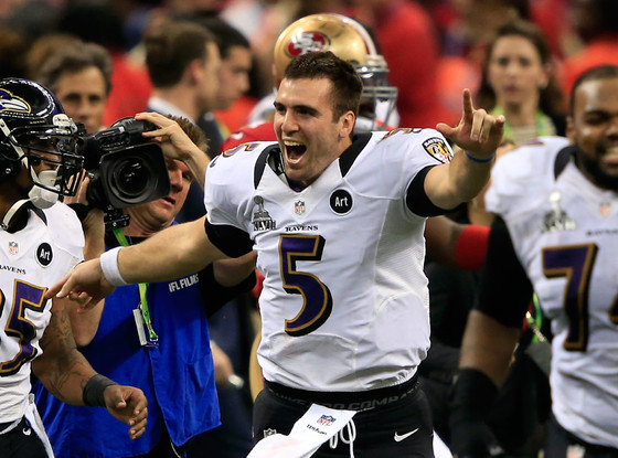 Joe Flacco, Baltimore Ravens, Super Bowl