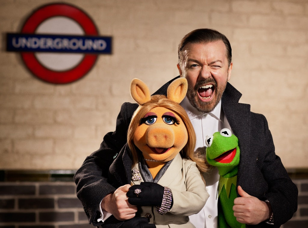 The Muppets Again!, Ricky Gervais