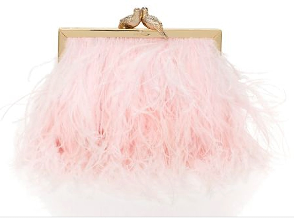 Kate Spade Kissing Canaries Clutch