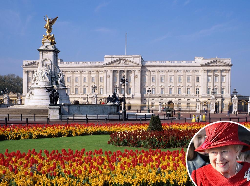 Queen Elizabeth Buckingham Palace British Royal Real