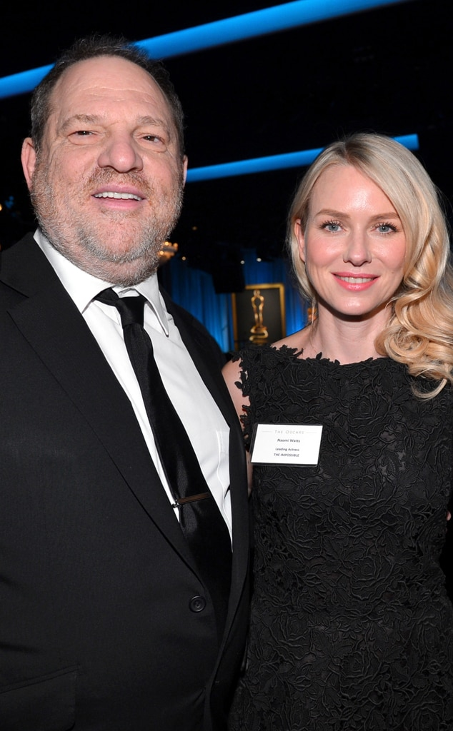 Harvey Weinstein, Naomi Watts