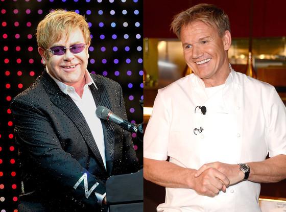 Gordon Ramsey, Elton John