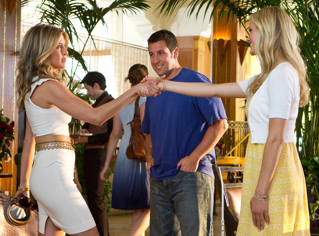 Just Go With It, Adam Sandler, Jennifer Aniston, Brooklyn Decker