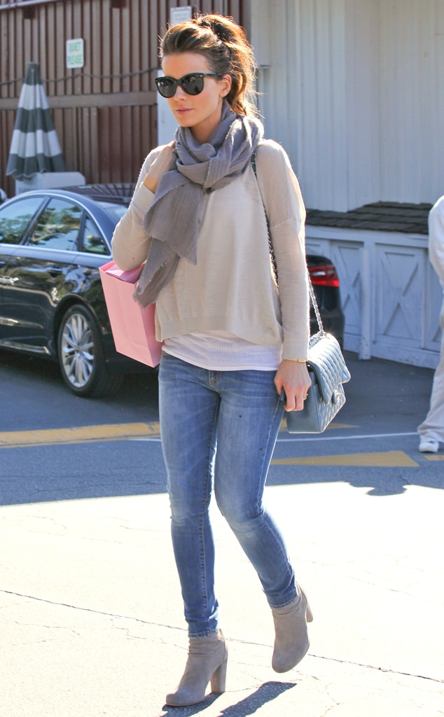Babe In Basics From Celebrity Street Style E News