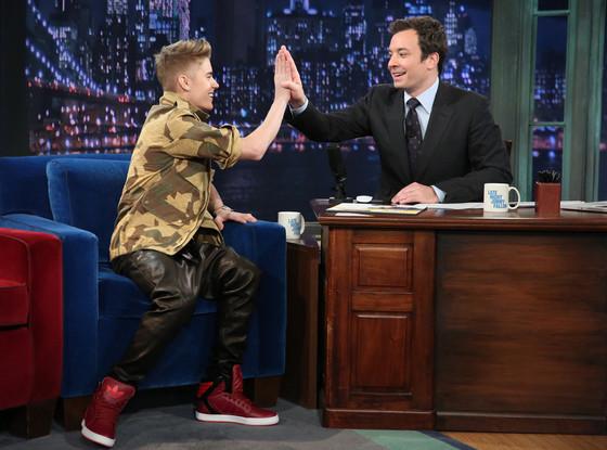 Justin Bieber, Jimmy Fallon