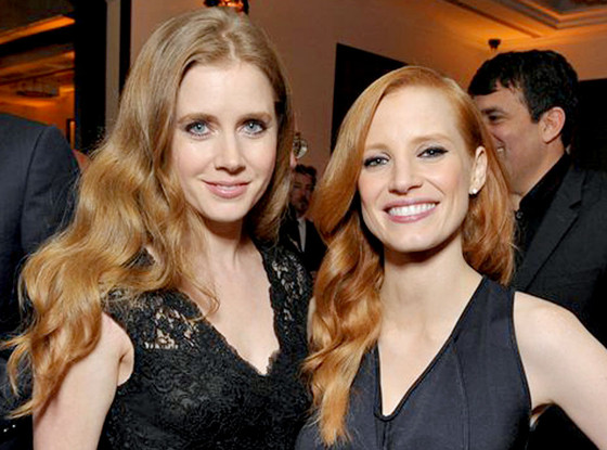 Amy Adams, Jessica Chastain
