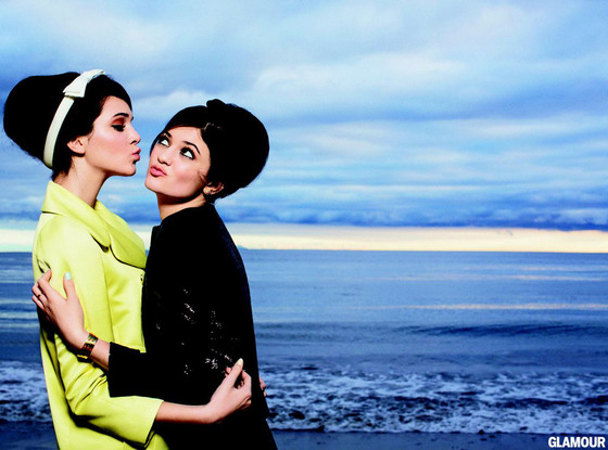 Kendall Jenner, Kylie Jenner, Glamour Magazine