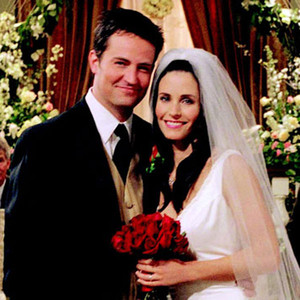 Courteney Cox, Matthew Perry, Friends
