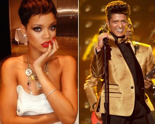 Rihanna, Bruno Mars