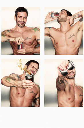 Marc Jacobs, Diet Coke ad