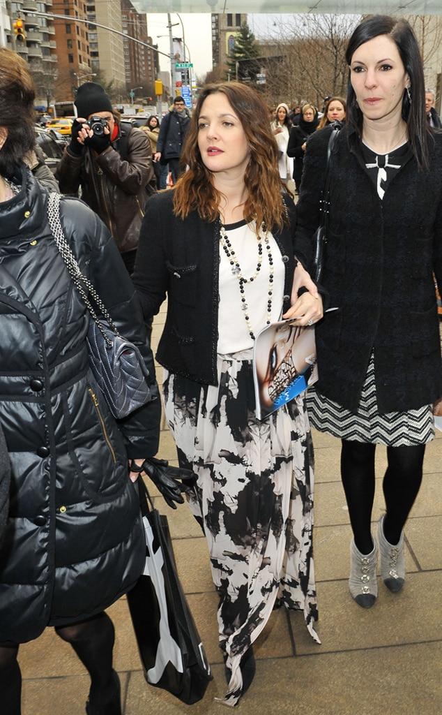 Drew Barrymore, New York Fashion Week