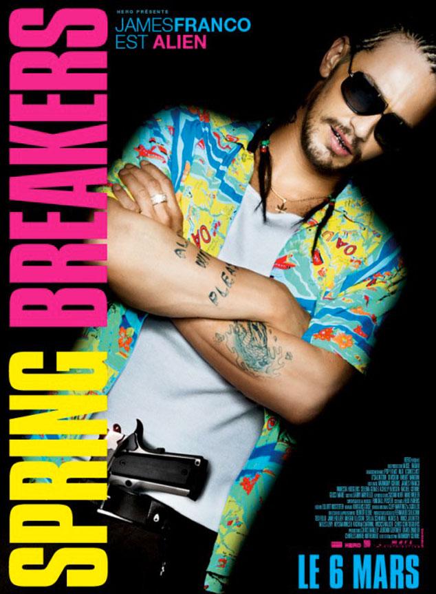 Spring Breakers, James Franco, Selena Gomez