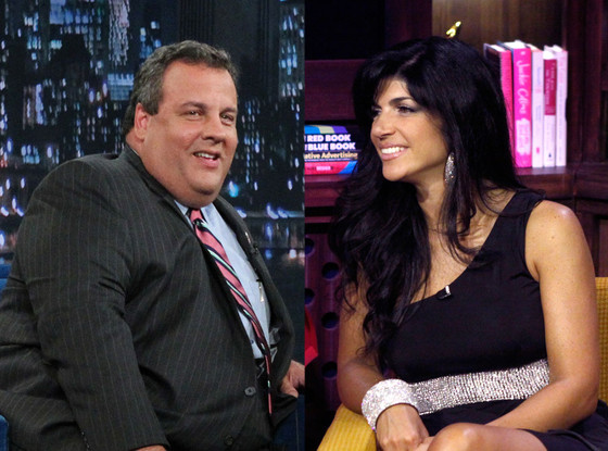 Teresa Giudice, Governor Chris Christie