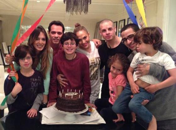 Jennifer Lopez, Caser Smart, Marc Anythony