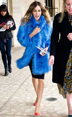 Sarah Jessica Parker, Mercedes-Benz Fashion Week