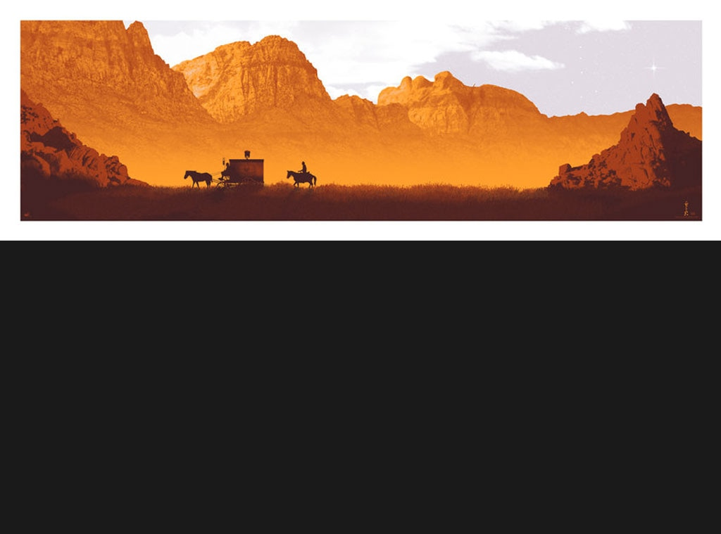 DJANGO UNCHAINED, Oscar Commission Poster