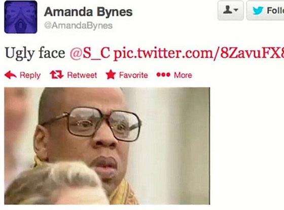 Amanda Bynes, Jay-Z