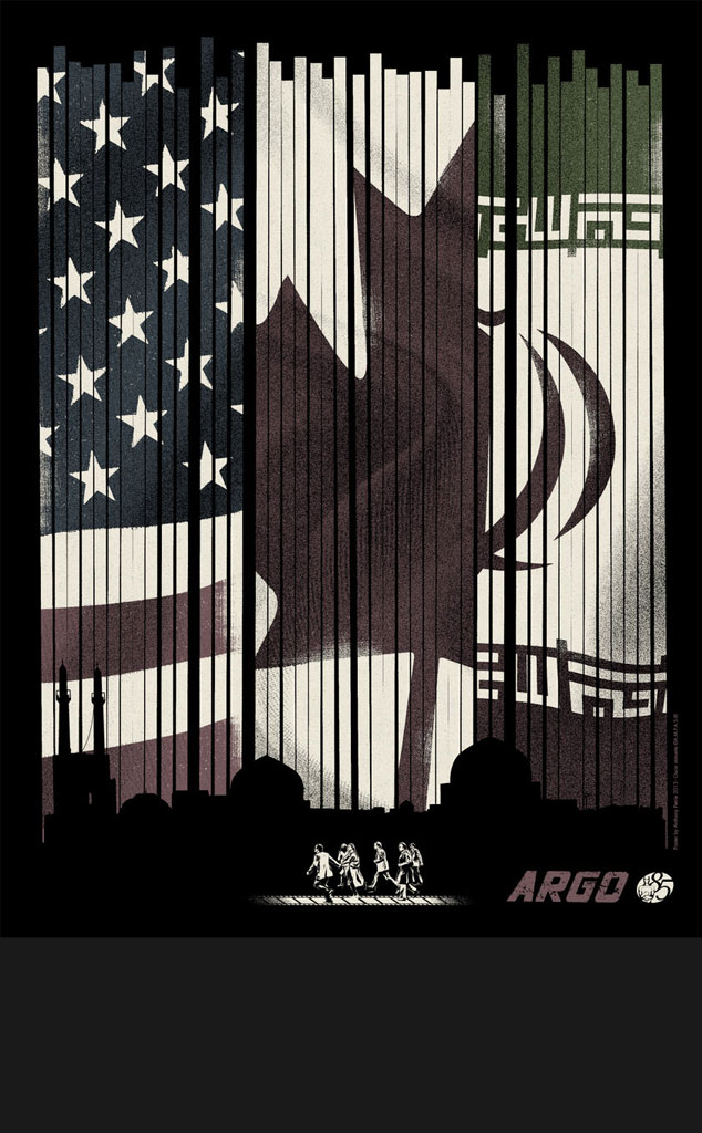 ARGO, Oscar Commission Poster