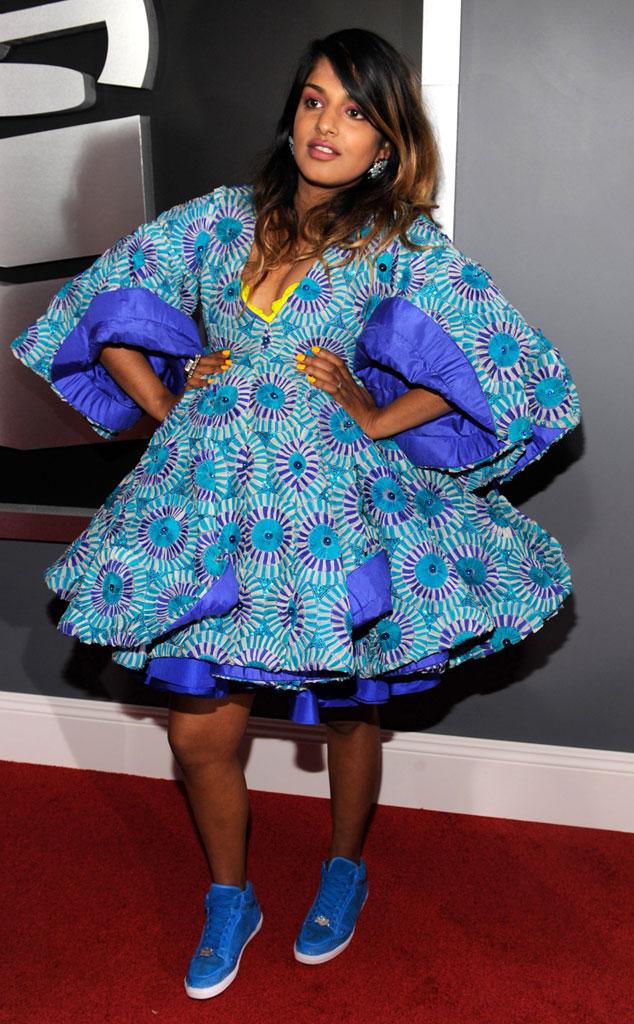 M.I.A., Grammy Fashion