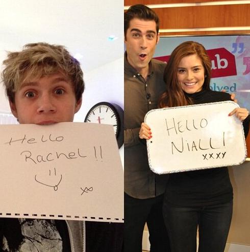 Niall Horan, Rachel Shenton