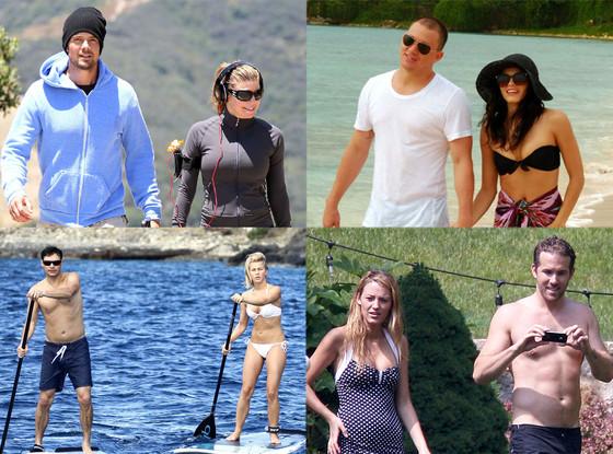 Fergie, Josh Duhamel, Jenna Dewan-Tatum, Channing Tatum, Ryan Seacrest, Julianne Hough, Blake Lively, Ryan Reynolds