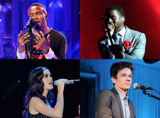 Frank Ocean, Kayne West, Katy Perry, Fun.