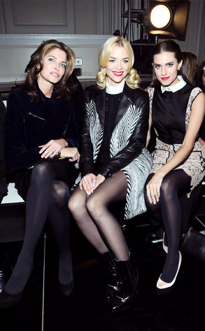 Stephanie Seymour, Jaime King, Allison Williams, NYFW