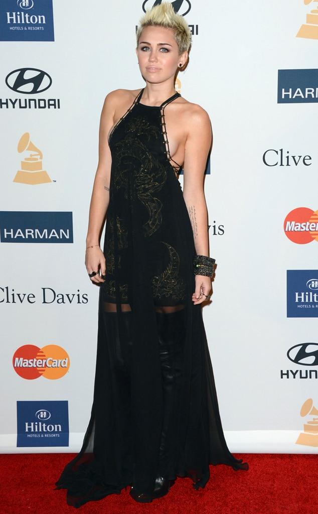 Miley Cyrus, Side boob
