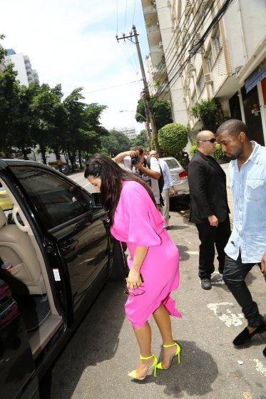 Kim Kardashian, Kanye West, Rio de Janeiro