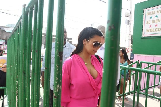 Kim Kardashian, Kanye West, Brasil