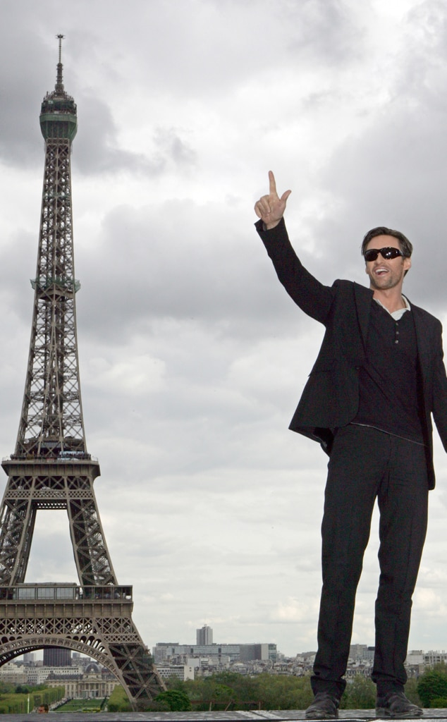 Hugh Jackman, Eiffel Tower