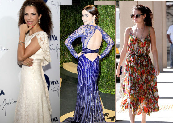 Vanessa da Mata, Lily Collins, Selena Gomez
