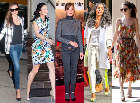 Miranda Kerr, Vanessa Hudgens, Marion Cotillard, Jada Pinkett Smith, Selena Gomez