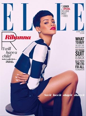 Rihanna, ELLE
