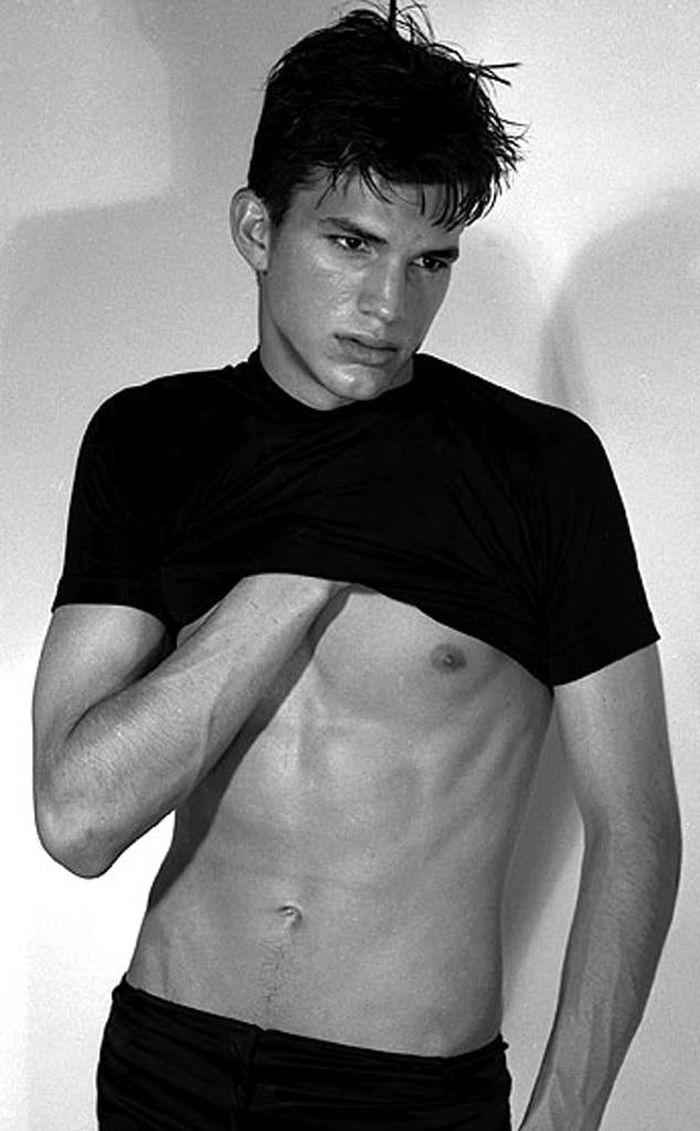 Ashton Kutcher, Modeling