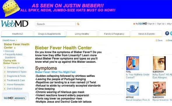 Bieber Fever, The Soup