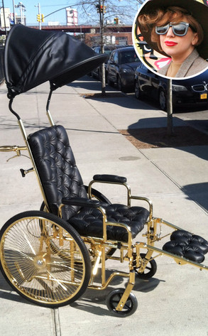 Lady Gaga, Wheelchair