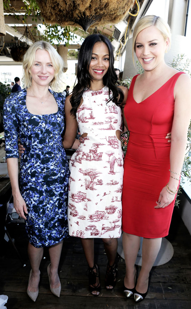Naomi Watts, Zoe Saldana, Abbie Cornish