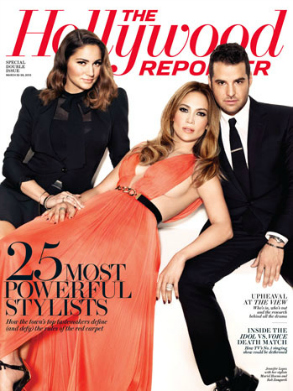 Hollywood reporter JLO